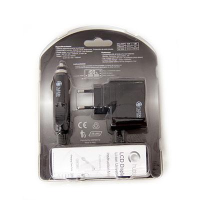Fotogénci@s | Tienda y estudio de fotografía | Cargador universal para baterías de litio