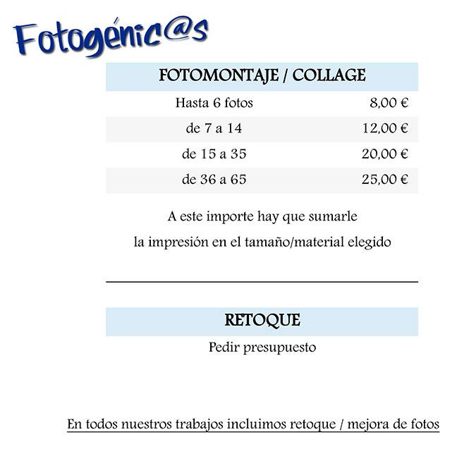 Fotogénci@s | Tienda y estudio de fotografía en El Casar | Retoque - Fotomontaje